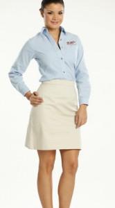 Faldas para secretarias