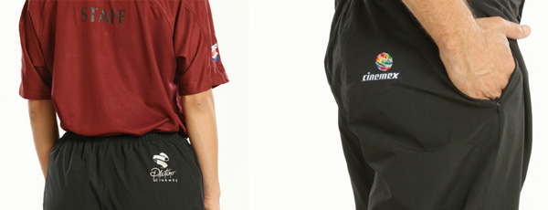 Uniformes bordados - Pantalones bordados